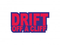 Наклейка Drift Of A Cliff