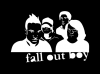 Наклейка на авто Fall Out Boy v1